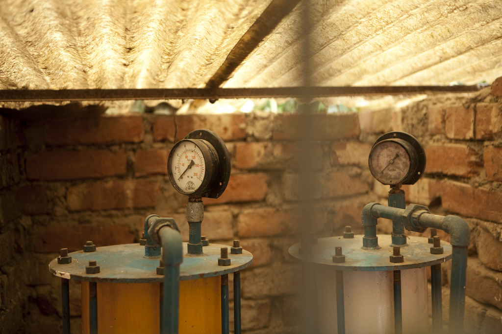 Die Arsenfilter sorgen für sauberes Trinkwasser in den arsenvergifteten Regionen.