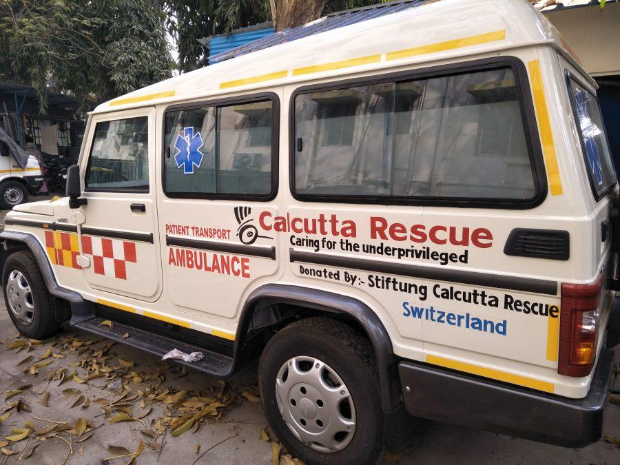 Der neue Jeep für den Krankentransport wurde von unserer Stiftung gesponsert.
