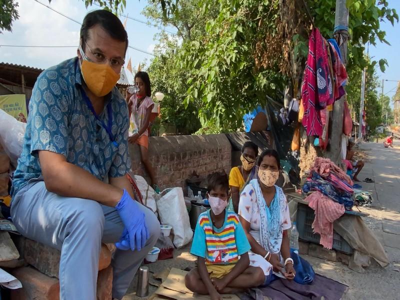 Chiranjit ist auf dem Weg der Besserung - dank des schnellen Handelns von CR