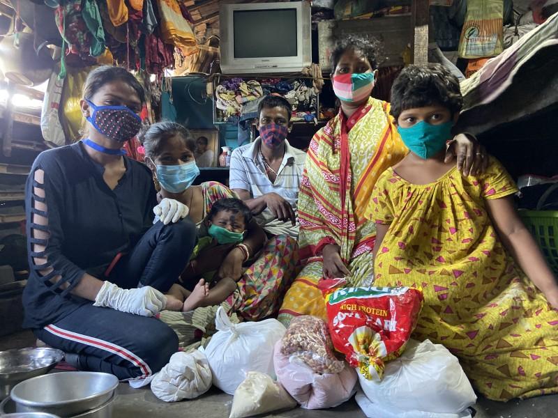 Covid-Studie in den Slums Kolkatas